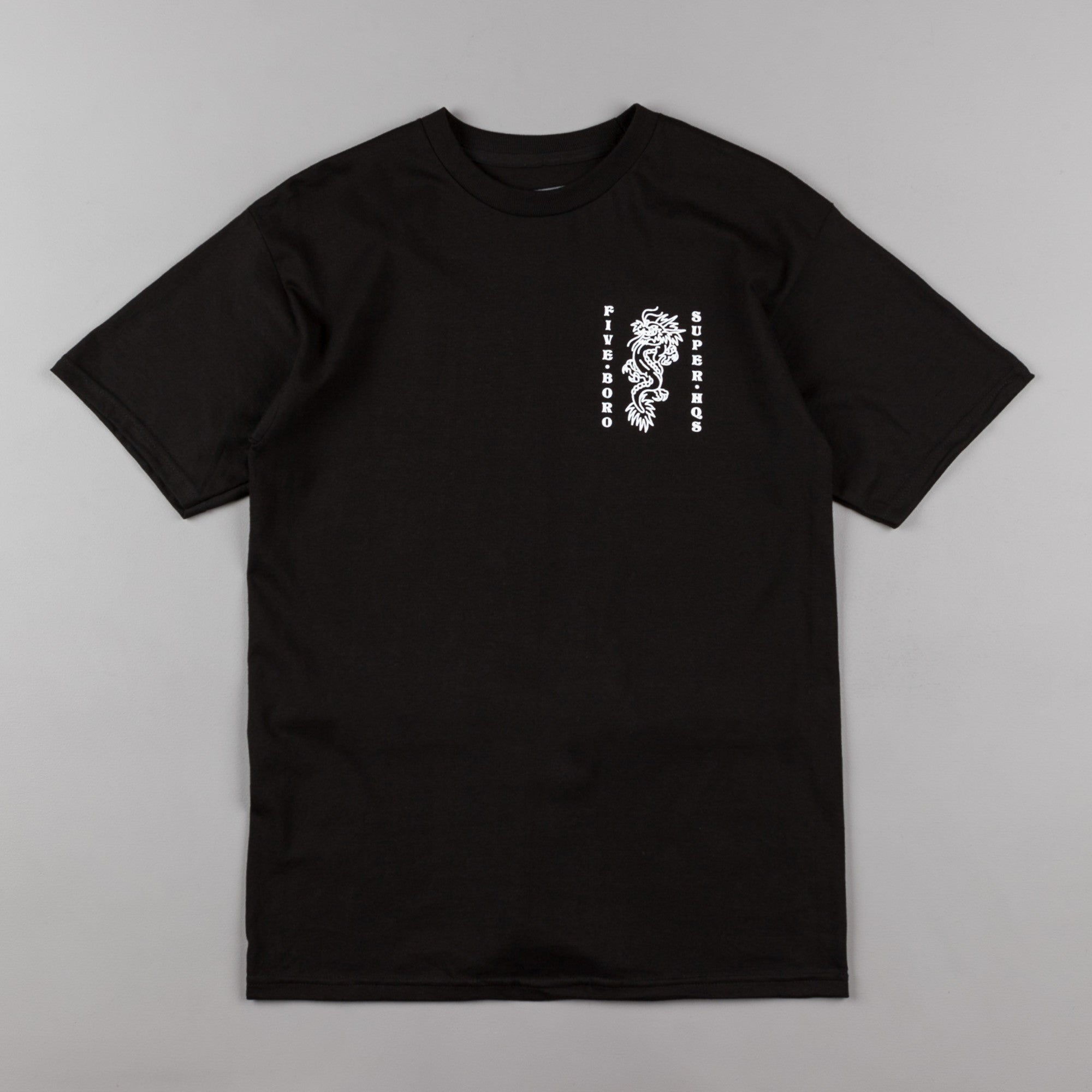5Boro Dragon T-Shirt - Black