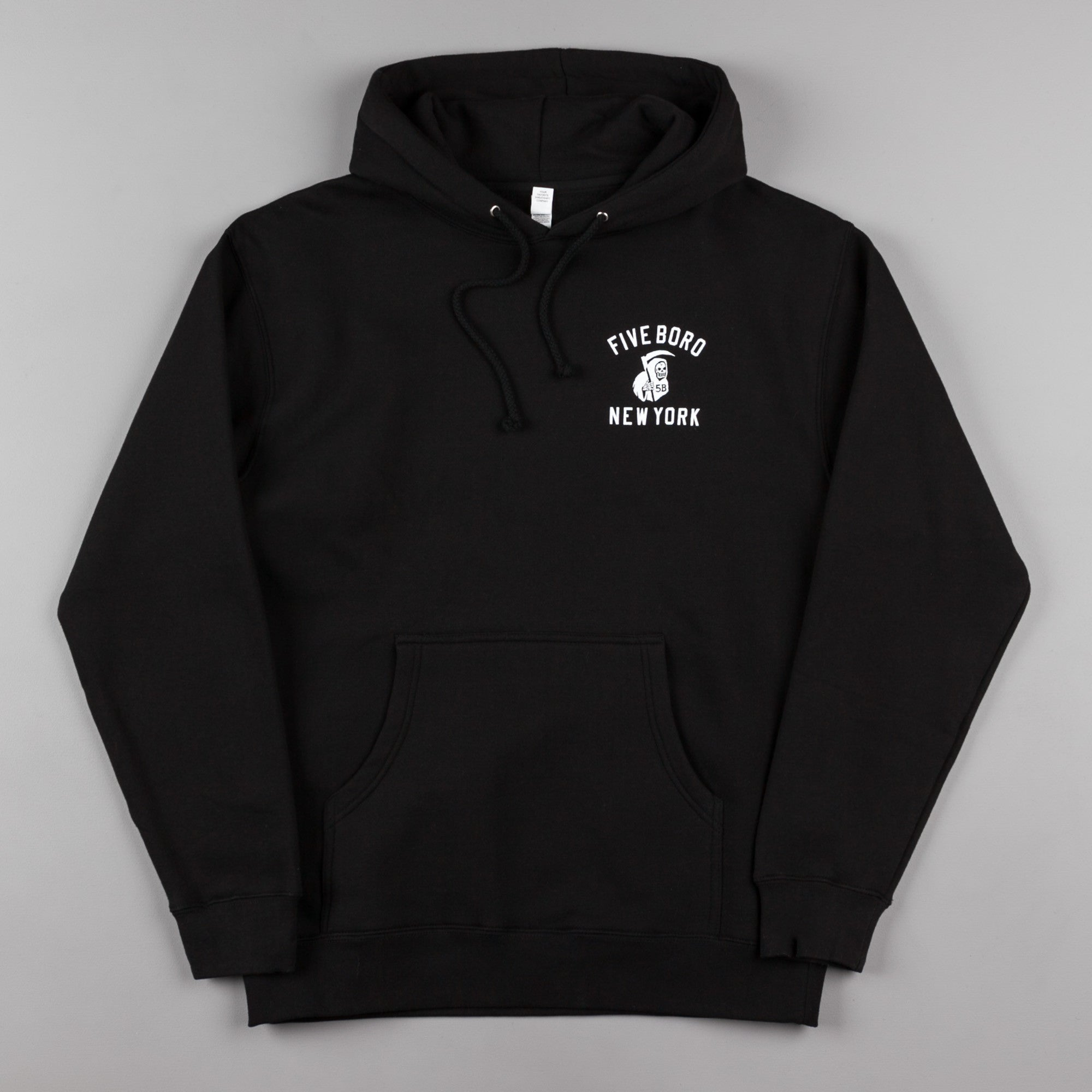 5Boro Reaper Hooded Sweatshirt - Black