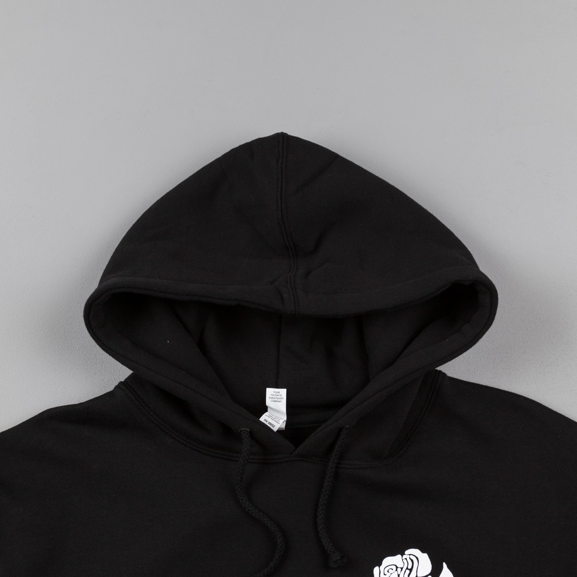 5Boro Rose Hooded Sweatshirt - Black