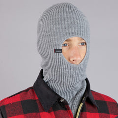 Brixton Rifle Balaclava Light Heather Grey