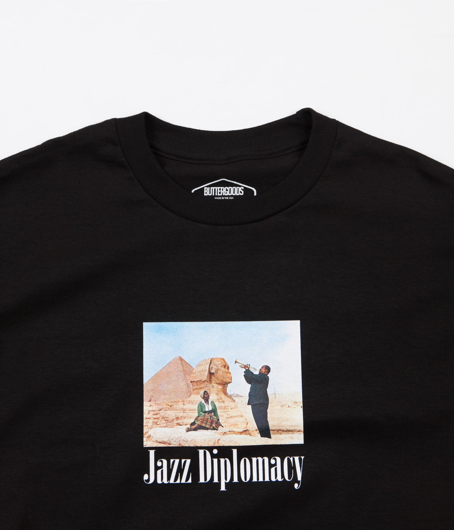 Butter Goods Jazz Diplomacy T-Shirt - Black