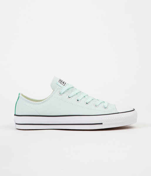 Converse CTAS Pro Ox Shoes - Fiberglass / Green Glow / Black