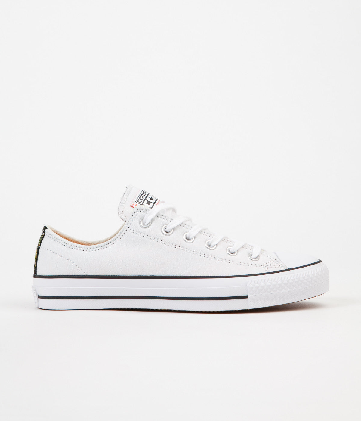 Converse CTAS Pro Ox Shoes - White / Hyper Orange / Black