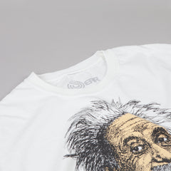 Dear Skating Sheffey Einstein T-shirt White