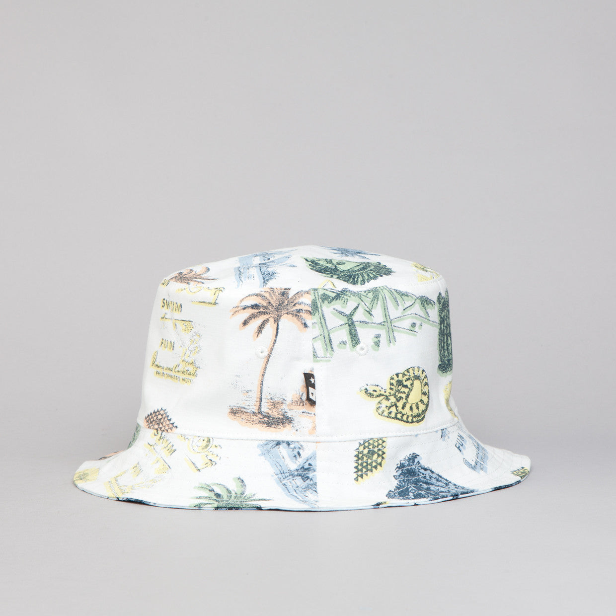 Fourstar Koston Reversible Bucket Hat White