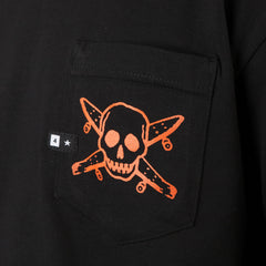 Fourstar Pirate Label Pocket T Shirt Black