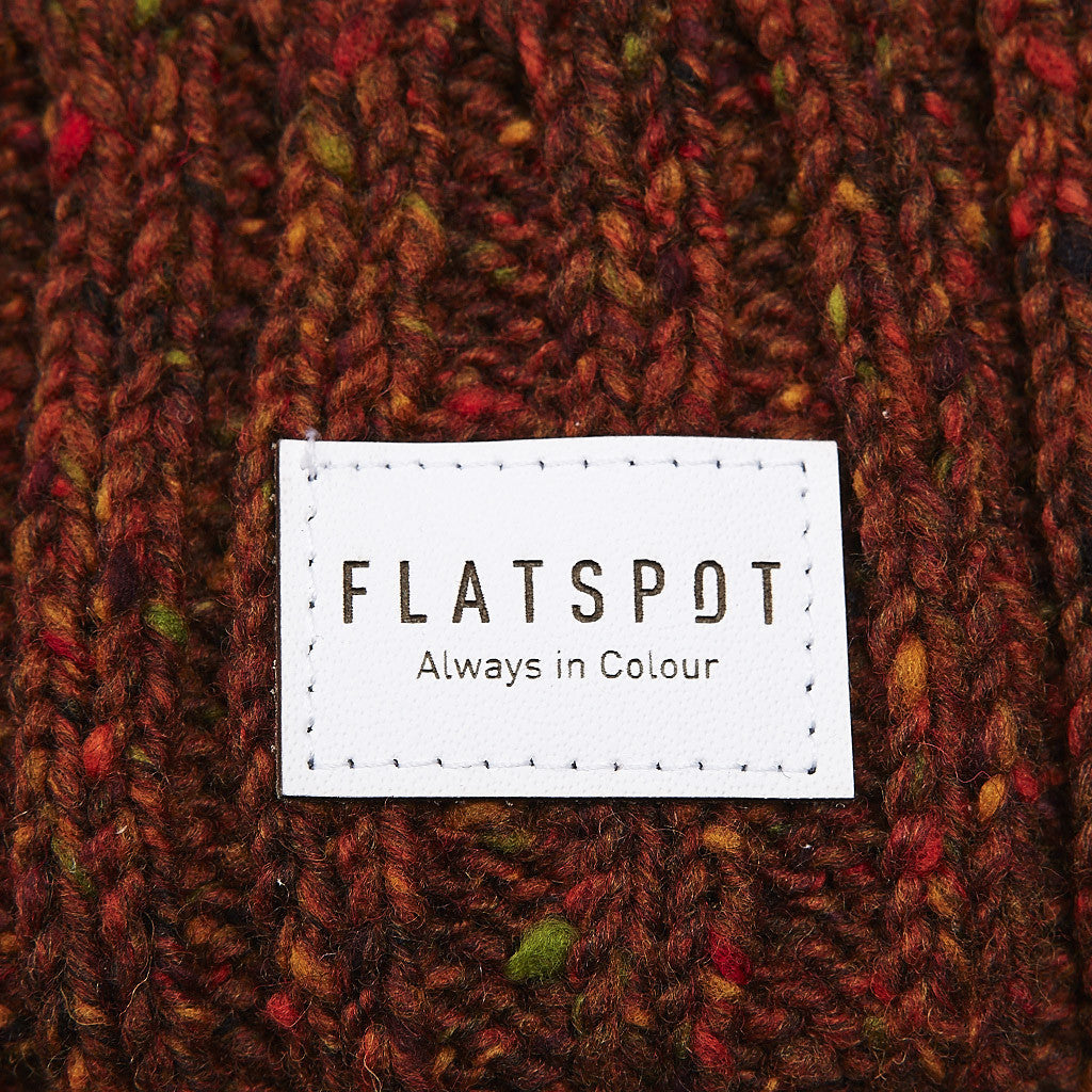 Flatspot AIC Donegal Wool Watchcap Rust