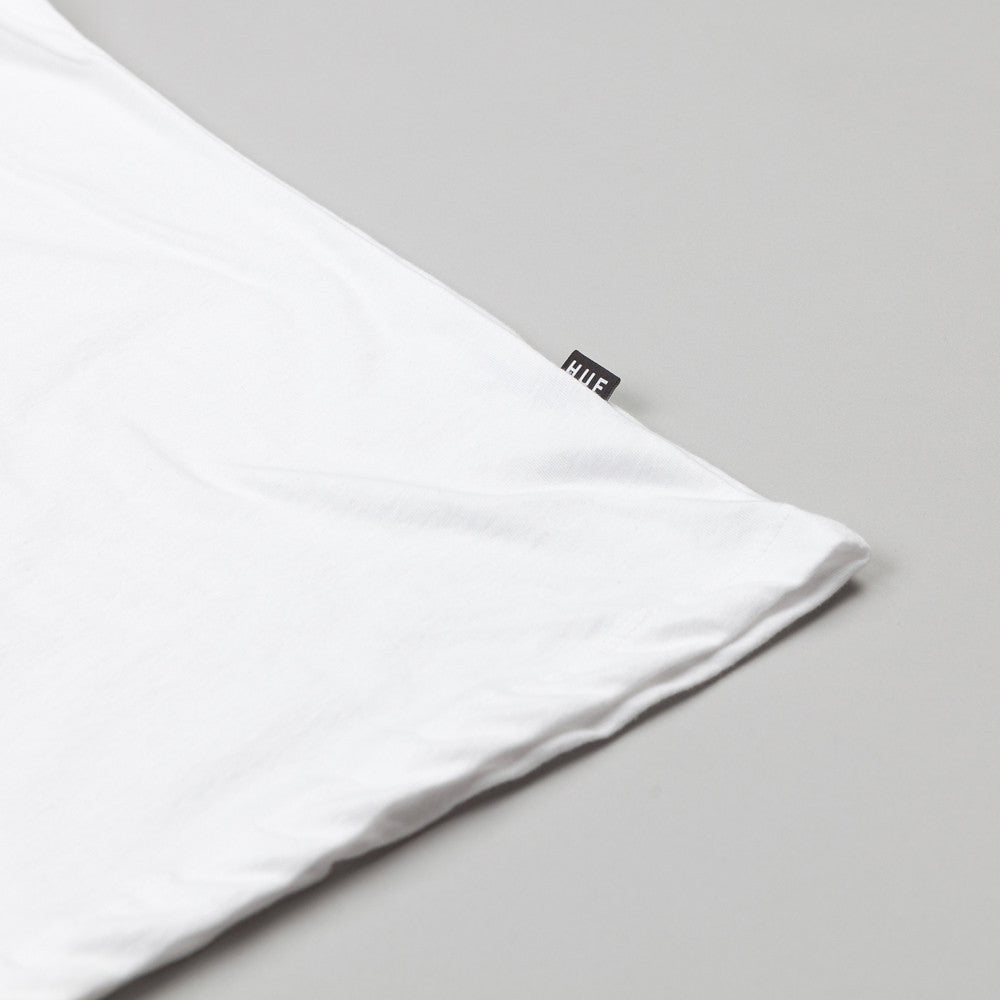 HUF 1986 Box Logo T Shirt White