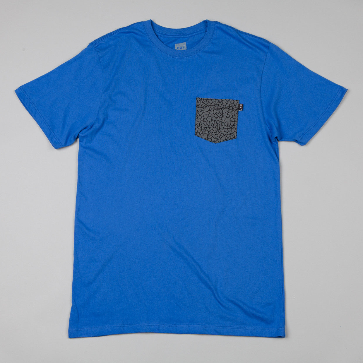 HUF Quake Pocket T-shirt Royal