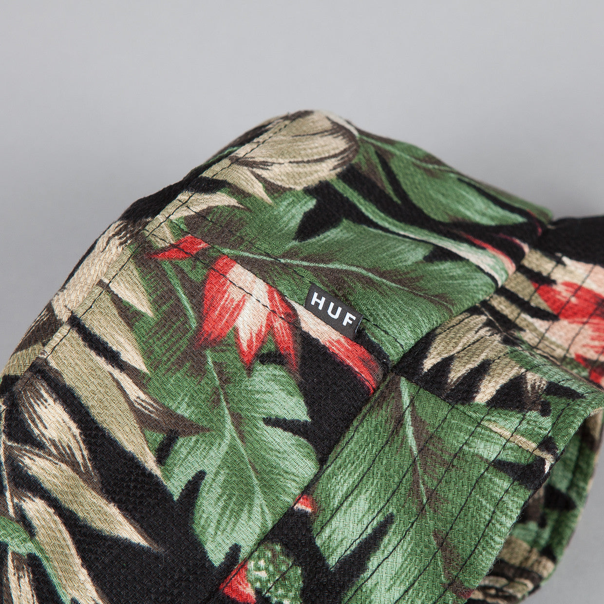 HUF Waikiki Bucket Hat Black
