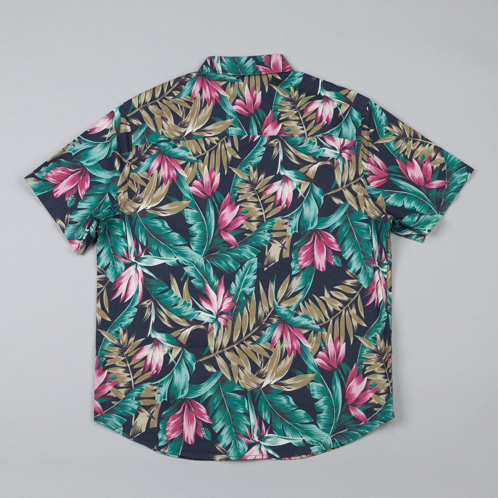 HUF Waikiki Short Sleeve Woven Shirt Navy