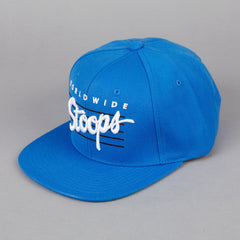 HUF Worldwide Stoops Starter Snapback Cap Royal