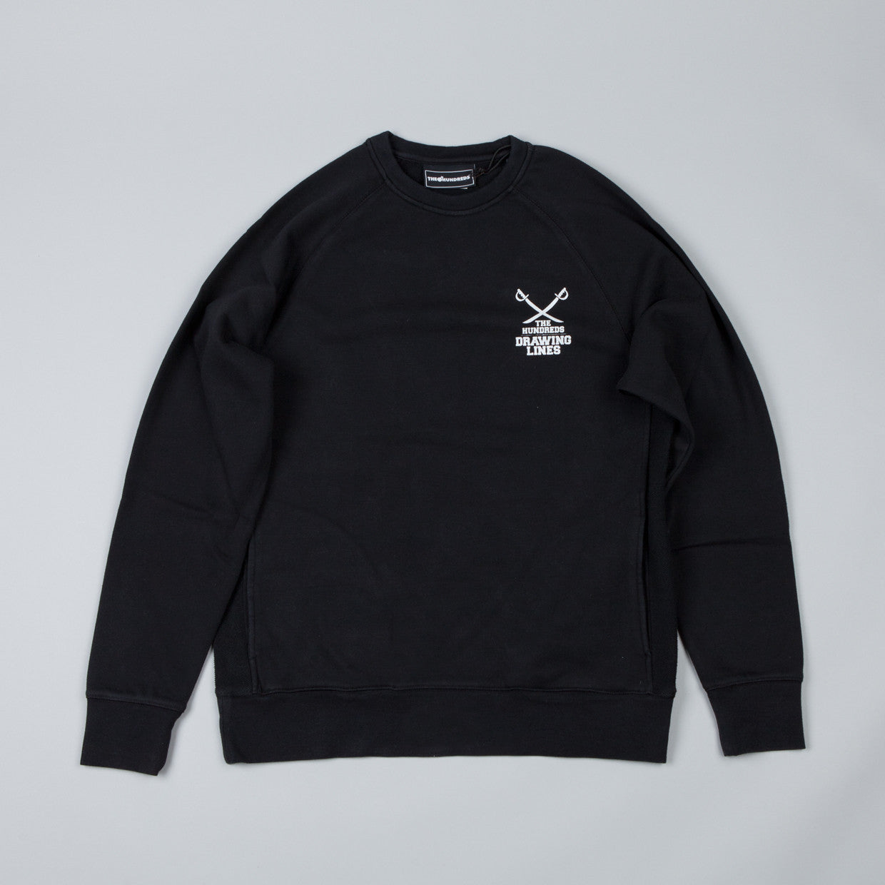 The Hundreds Fillmore Crew Sweatshirt Black
