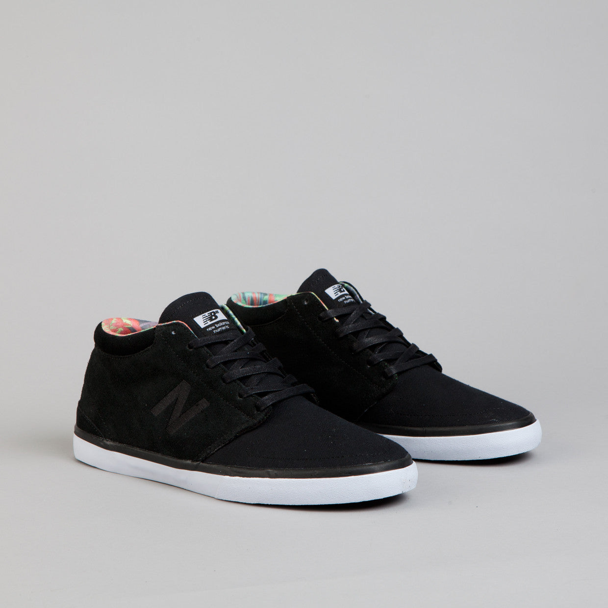 New Balance Numeric Brighton High 354 Shoes - Black / White