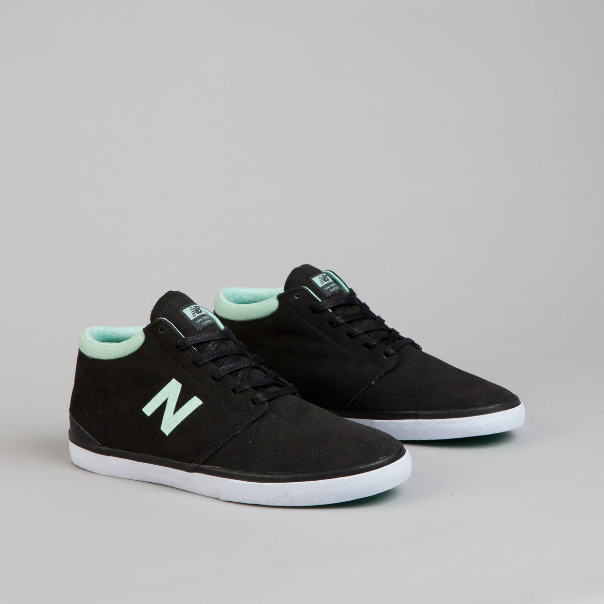 New Balance Numeric Brighton High 354 Pirate Black / Ice Green