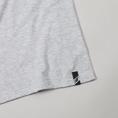 New Balance Numeric Label T Shirt Heather Grey / Moon Blue