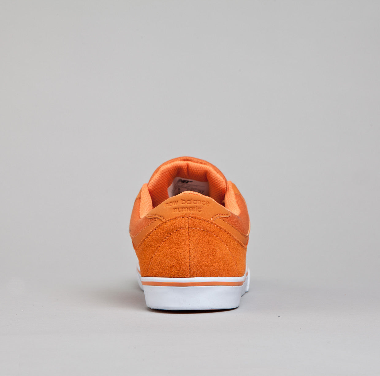 New Balance Numeric Quincy 254 Shoes - Burnt Orange / Tang Orange