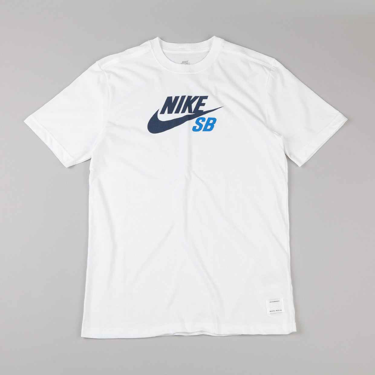 Nike Sb Dri-fit Icon T-shirt White / Obsidian