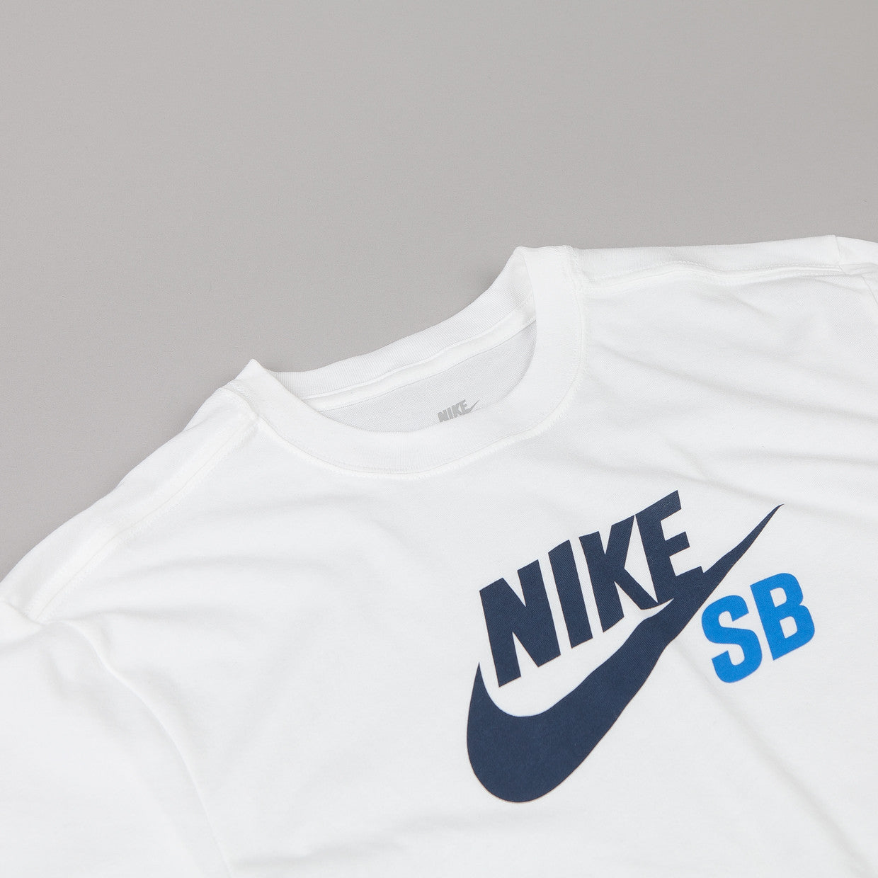 Nike Sb Dri-fit Icon T-shirt White / Obsidian - Photo Blue
