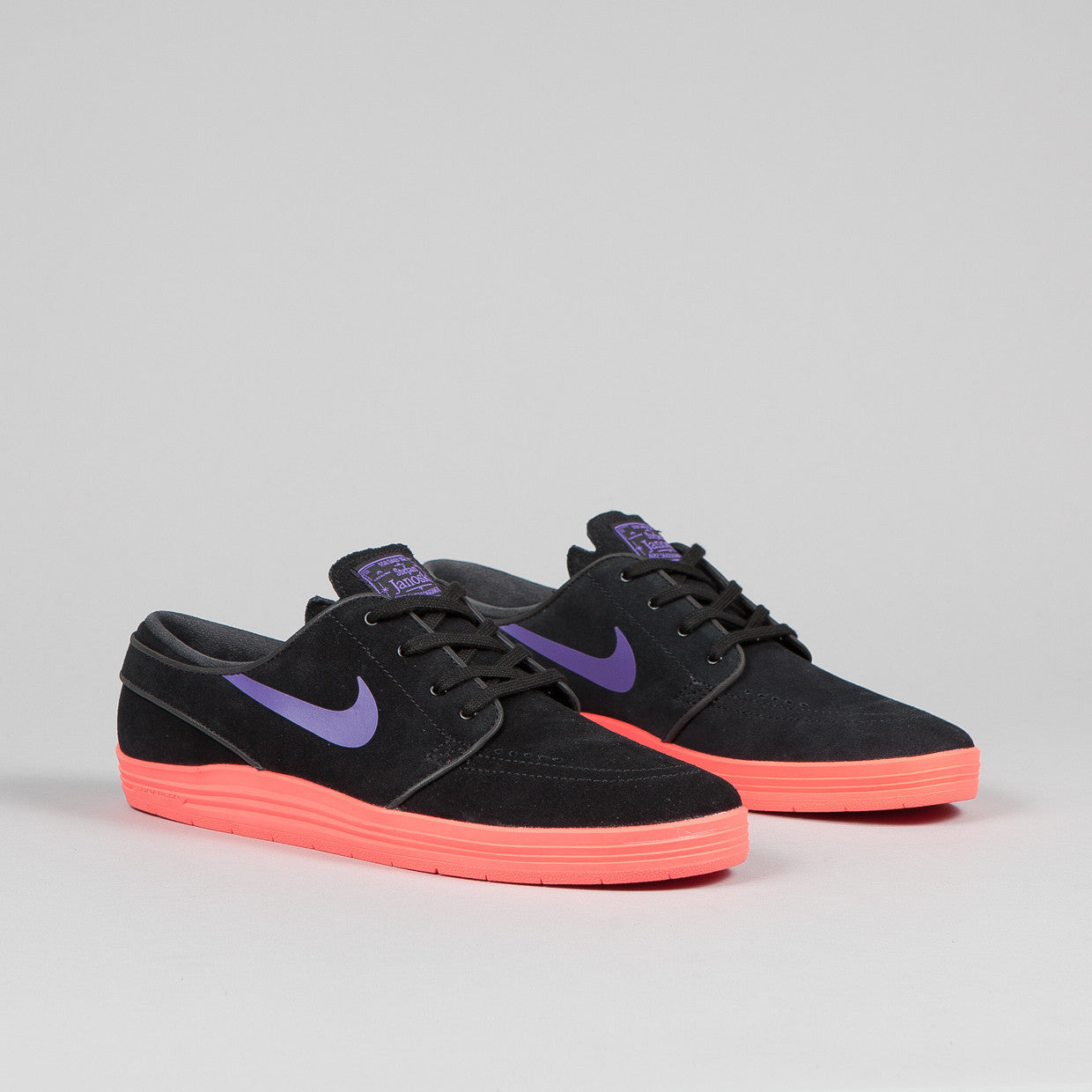 Nike SB Lunar Janoski ( WC ) Black / Hyper Grape Punch