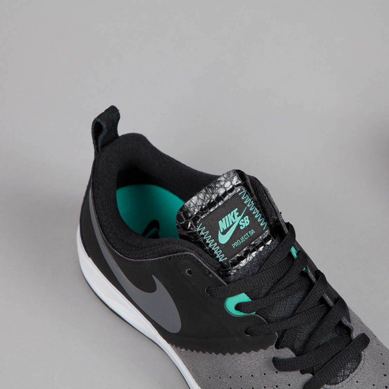 Nike Sb Project BA Black / Dark Grey - Crystal Mint