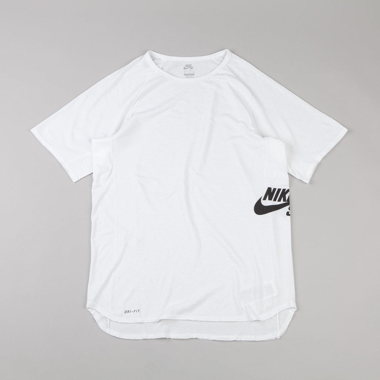 Nike Sb Dri-fit Skyline T-shirt White / Black