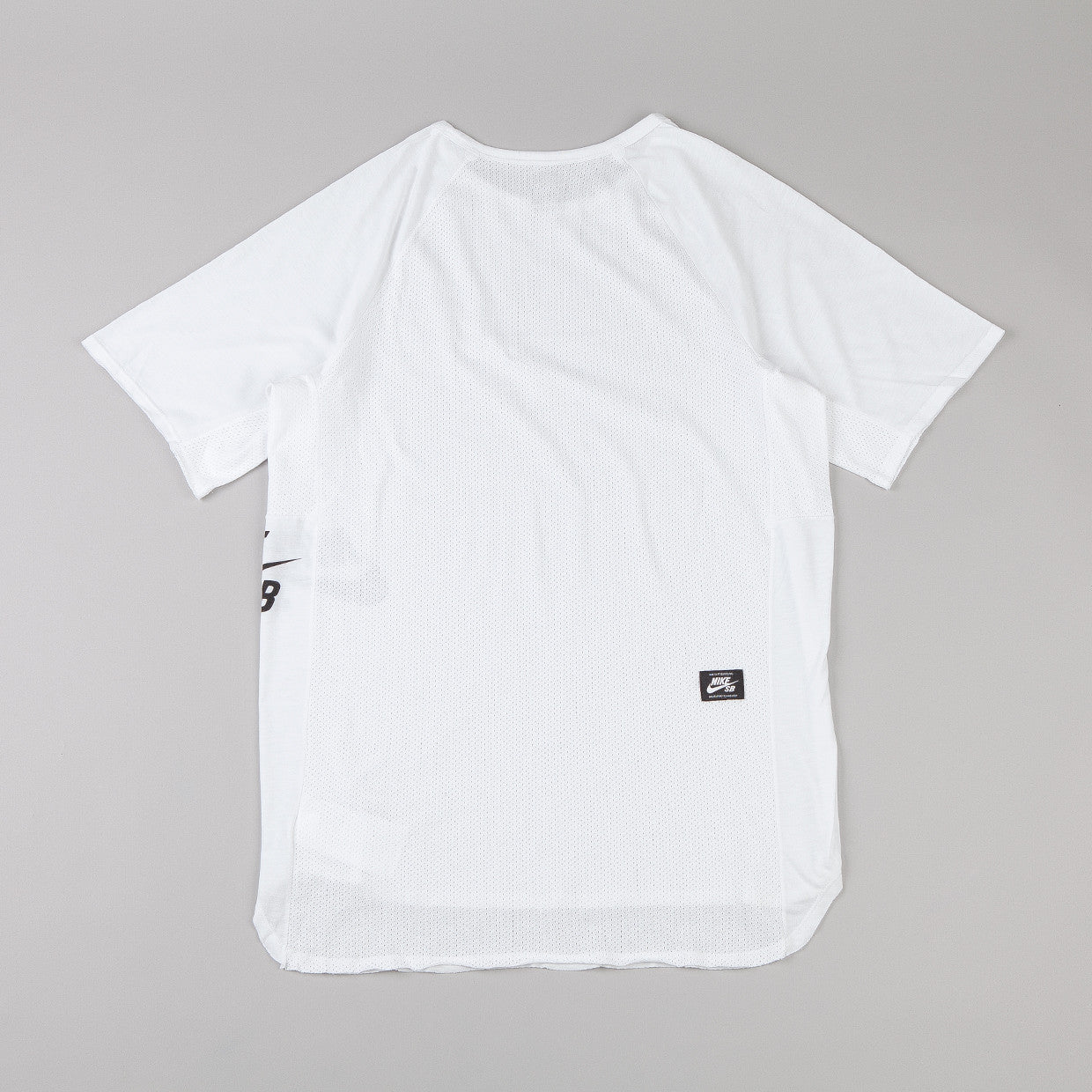 Nike Sb Dri-fit Skyline T-Shirt  - White / Black
