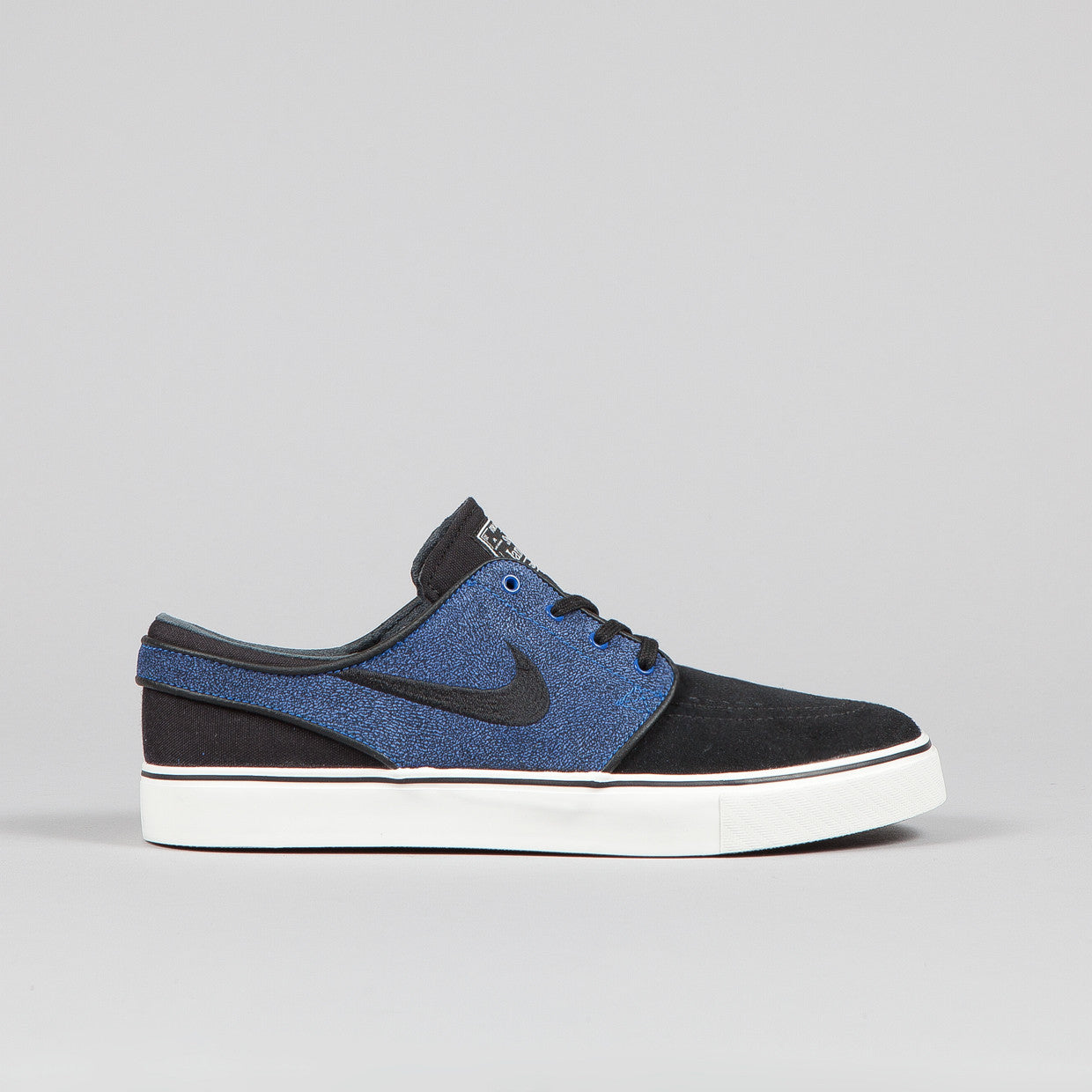 Nike SB Stefan Janoski Black / Black - Game Royal - Ivory