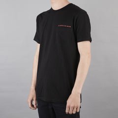 Pass Port AASB Pocket T Shirt Black / Red