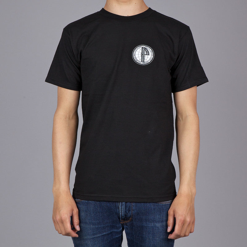 PASS PORT PARTNERS T SHIRT BLACK