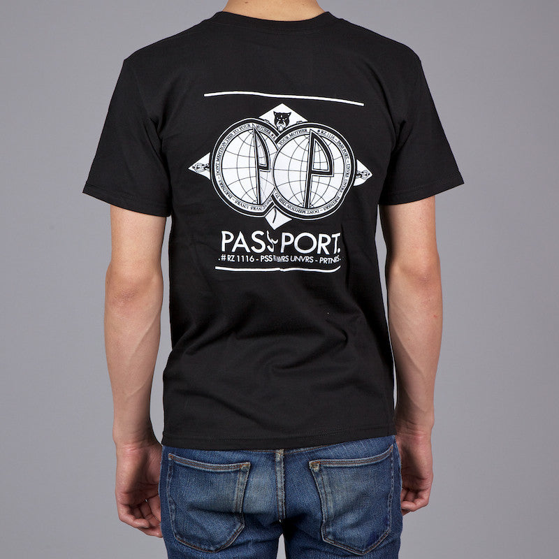 Pass Port Partners T-Shirt - Black