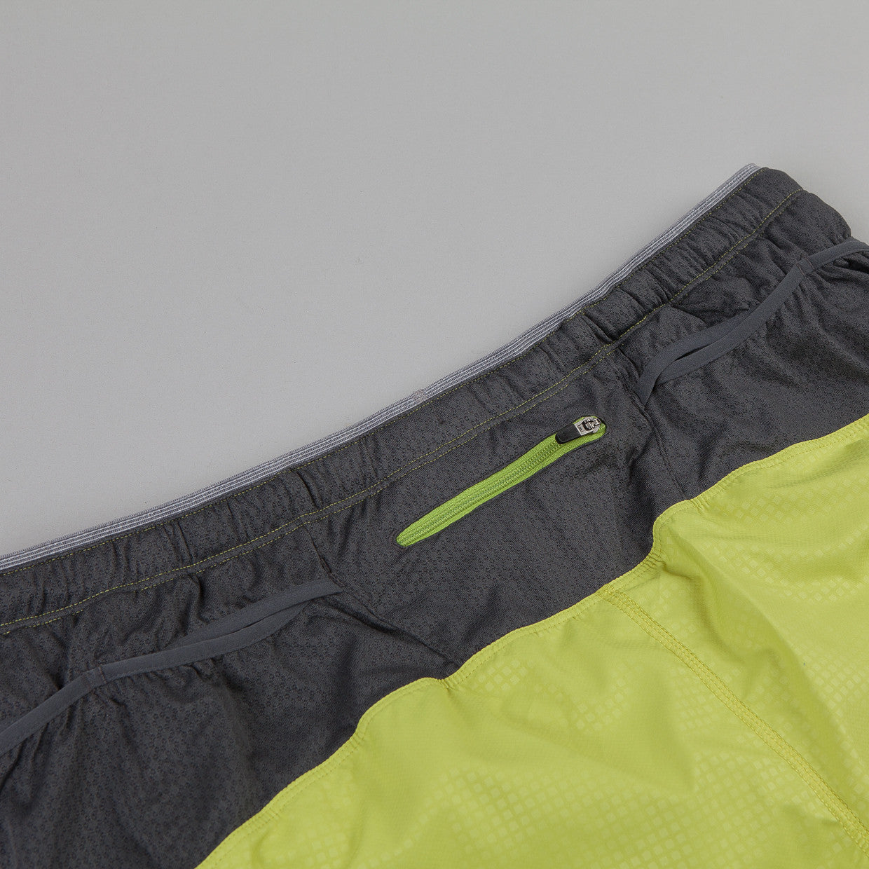 Patagonia Strider Pro Shorts Tumalo Grid: Folios Green