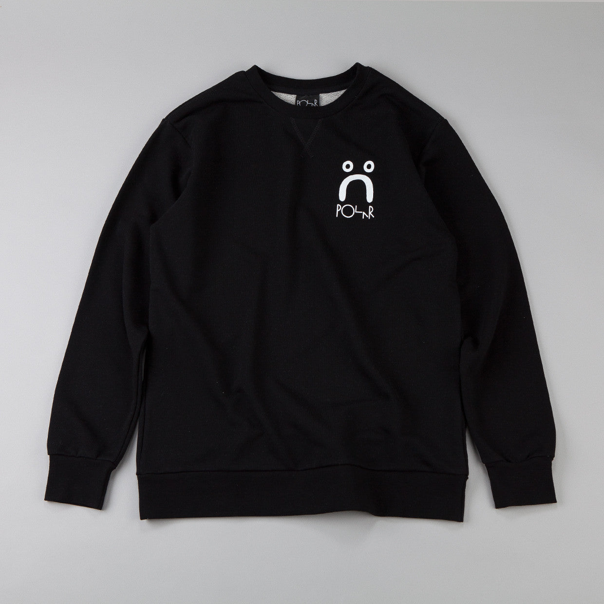 Polar Happy Sweatshirt Black