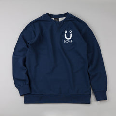 Polar Sad Sweatshirt Navy