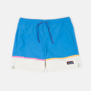 Bottom Leg Stripe: Joya Blue
