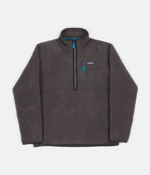 Patagonia Retro Pile Pullover Jacket - Forge Grey