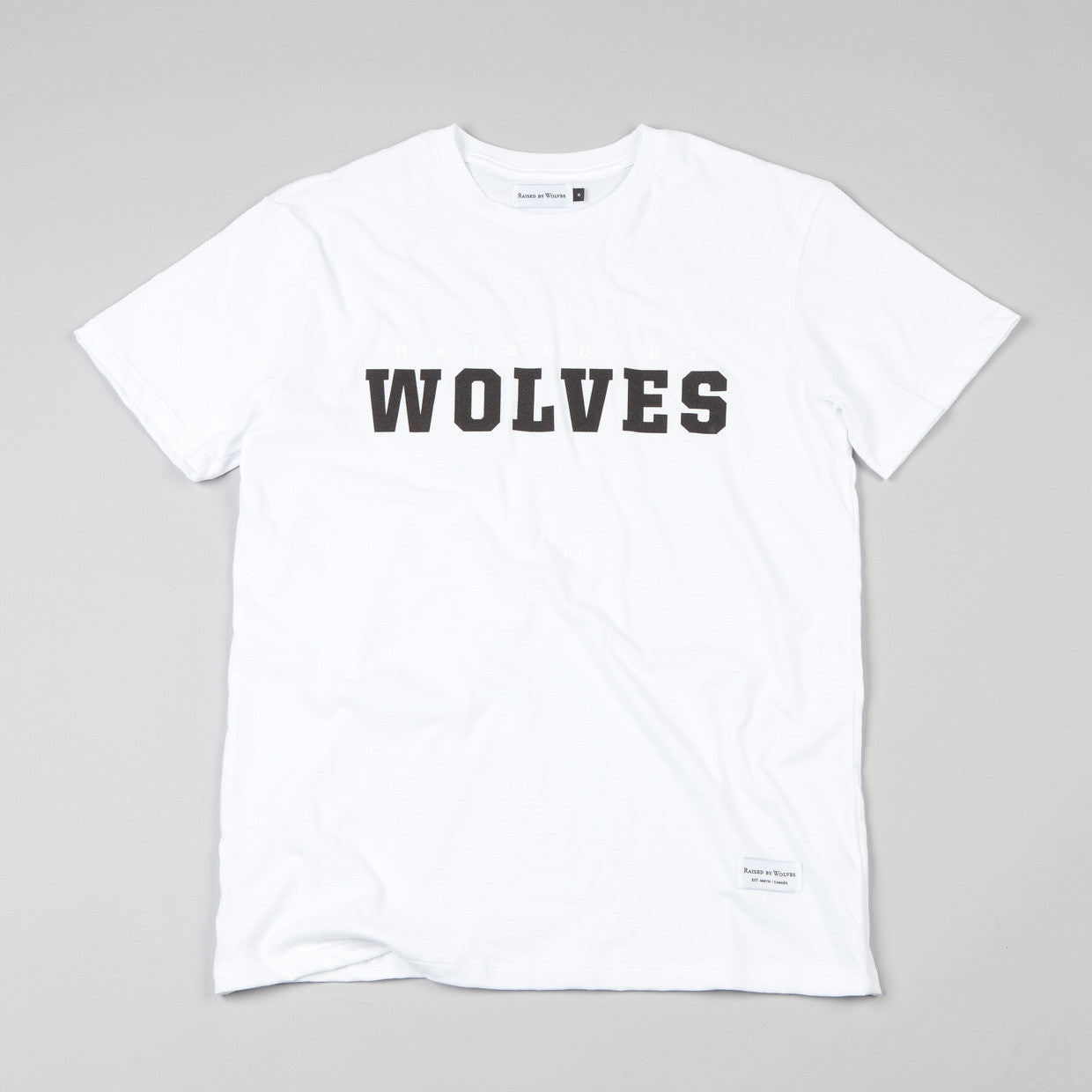 Raised By Wolves - Wolves II T-shirt White
