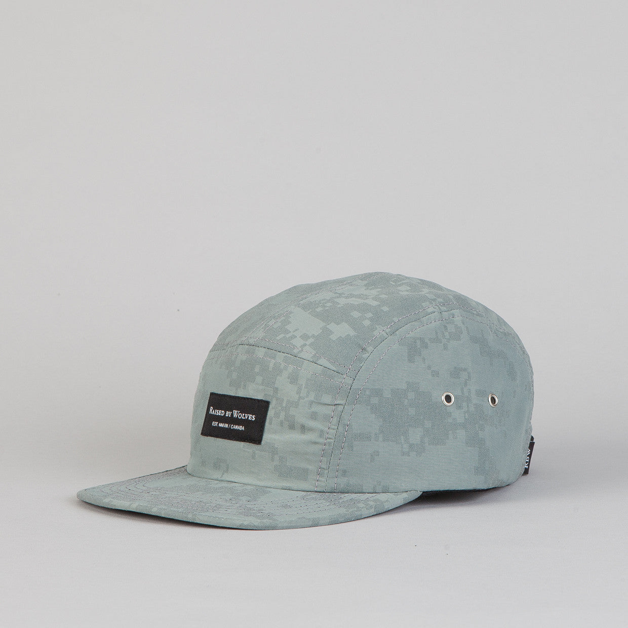 Raised By Wolves Algonquin 5 panel Cap Reflective Digi Camo