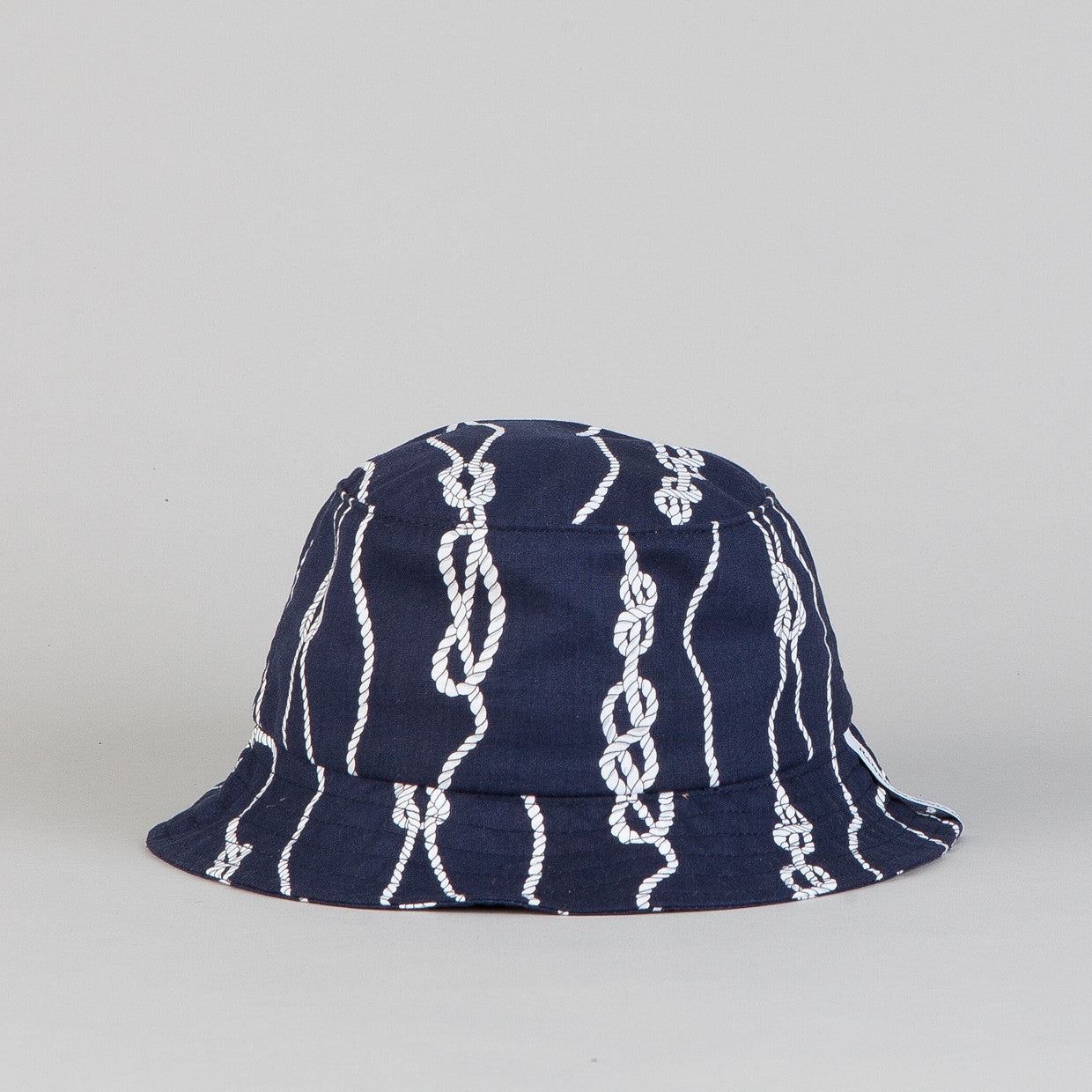 Raised By Wolves Gatineau Bucket Hat Navy Sailors Knot