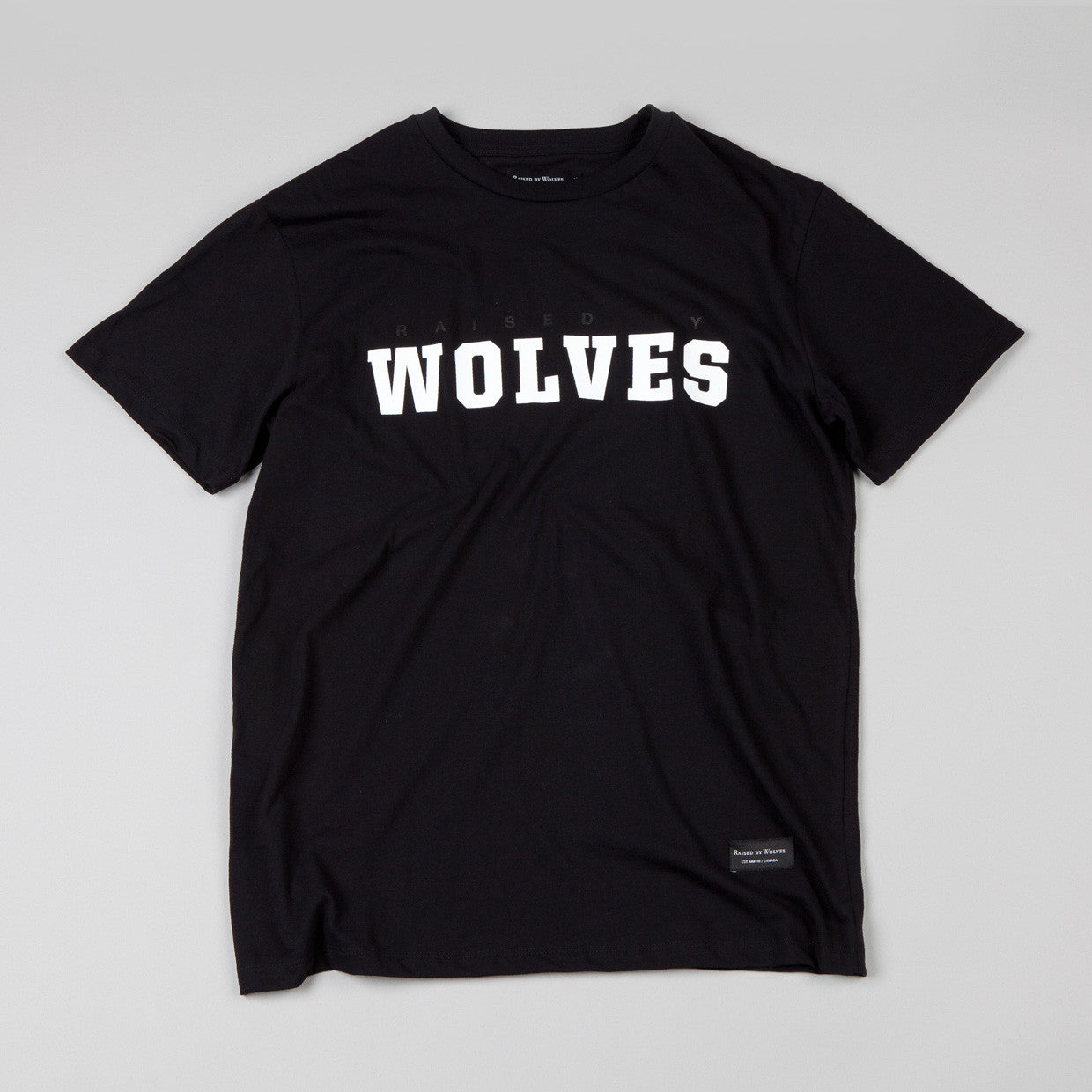 Raised By Wolves - Wolves II T-shirt Black