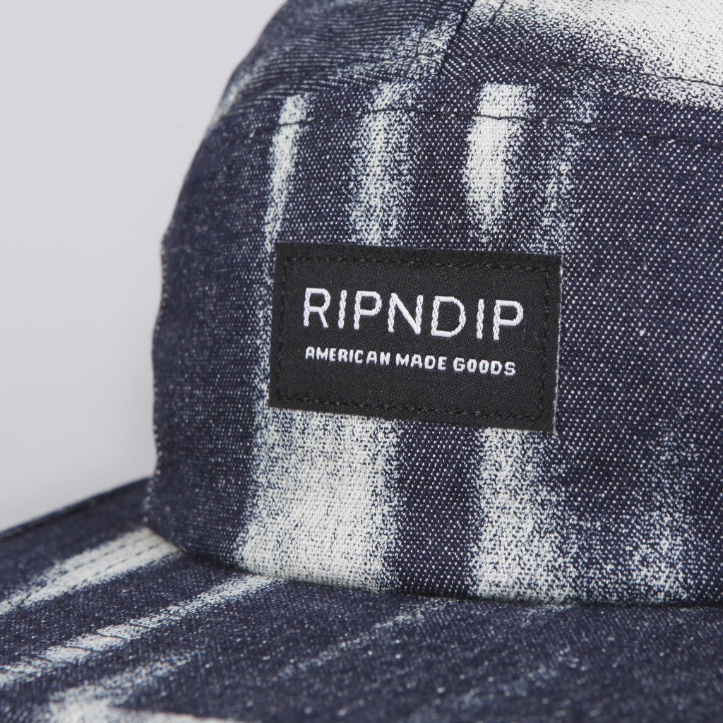 Rip N Dip Washed Denim Camp Cap