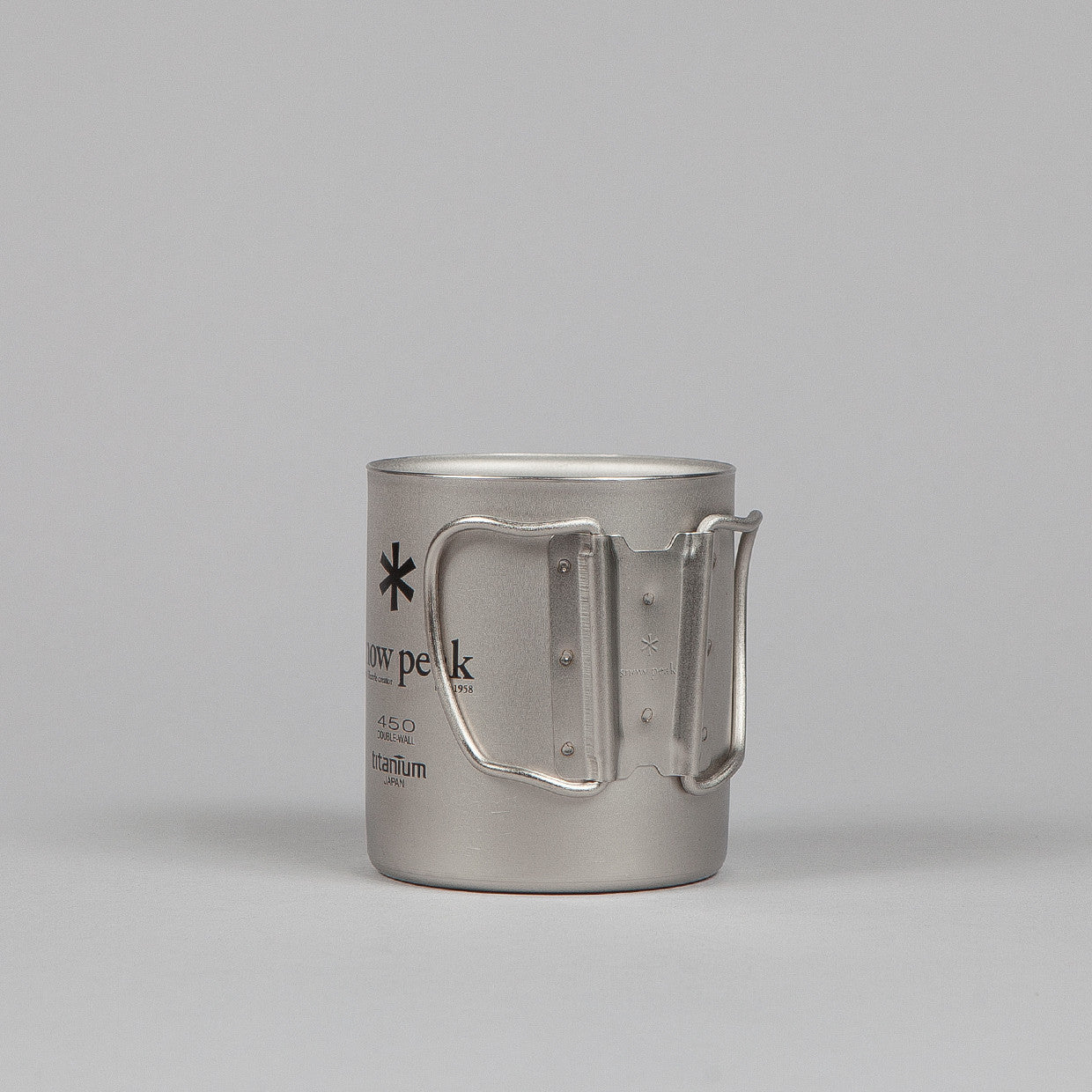 Snow Peak Titanium Double Wall Cup 450