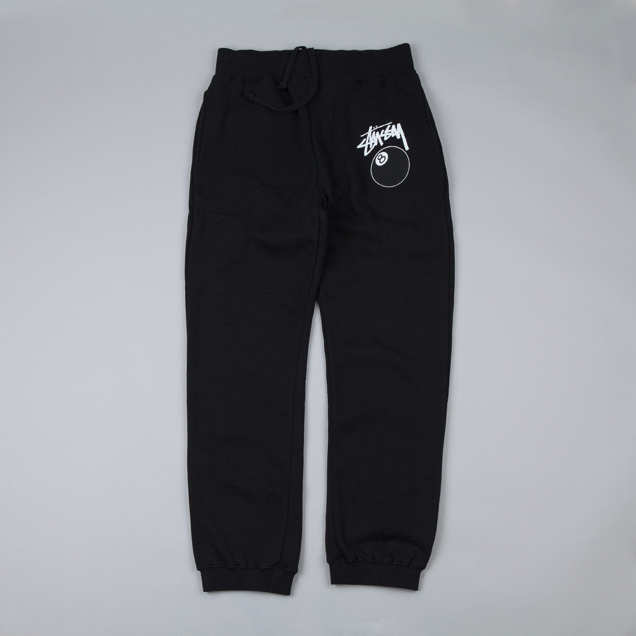 Stussy 8 Ball Sweatpants Black