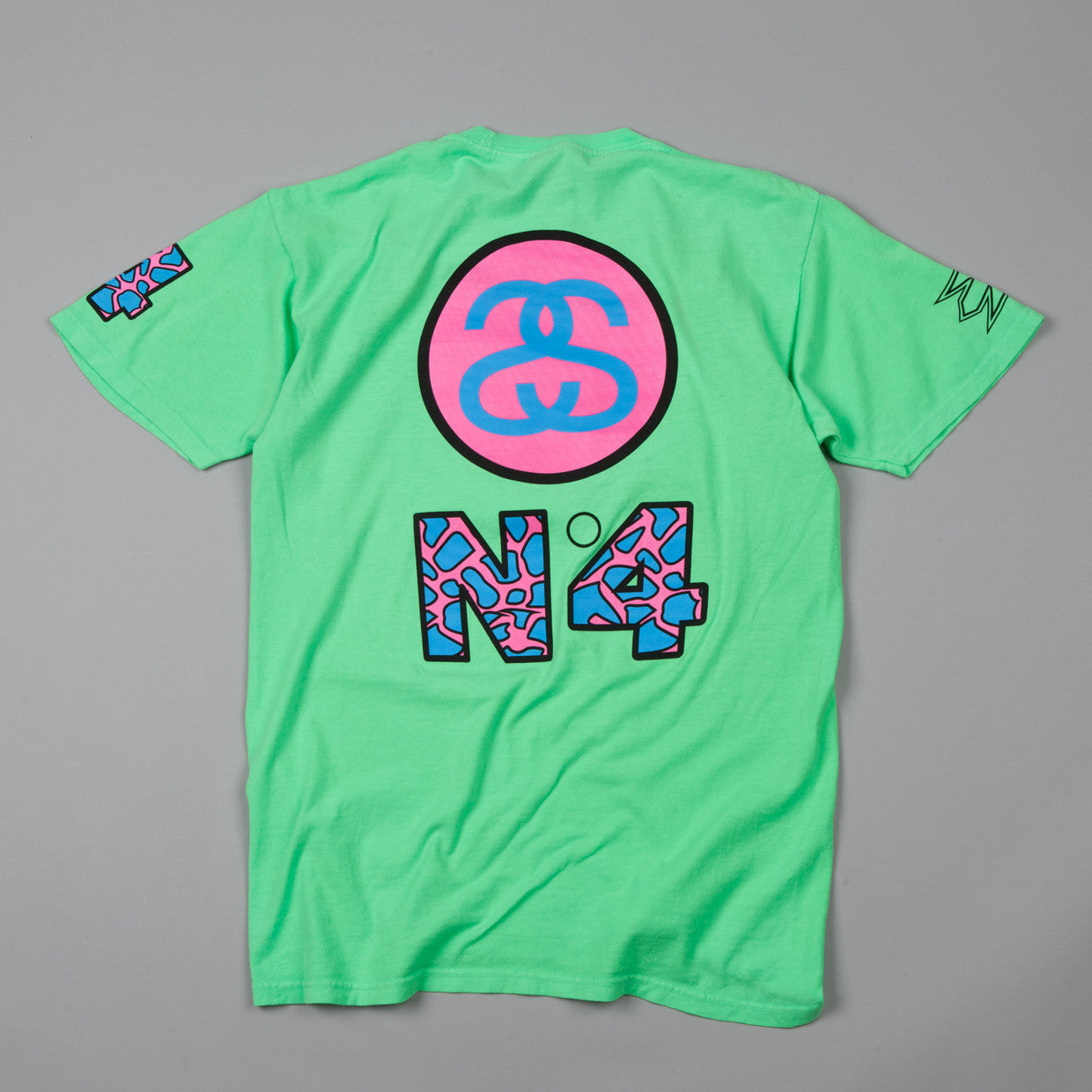 Stussy Designs Box T-shirt Neon Green