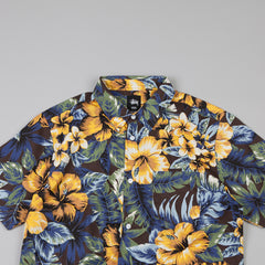 Stussy Island Flower SS Shirt Black