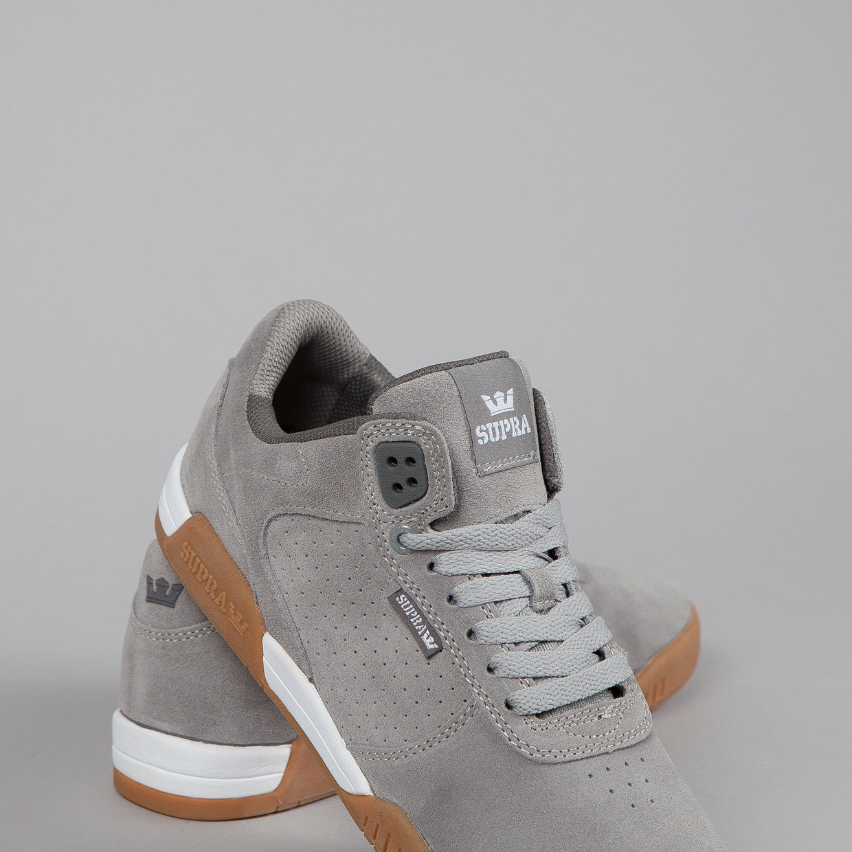 Supra Ellington Grey / Gum