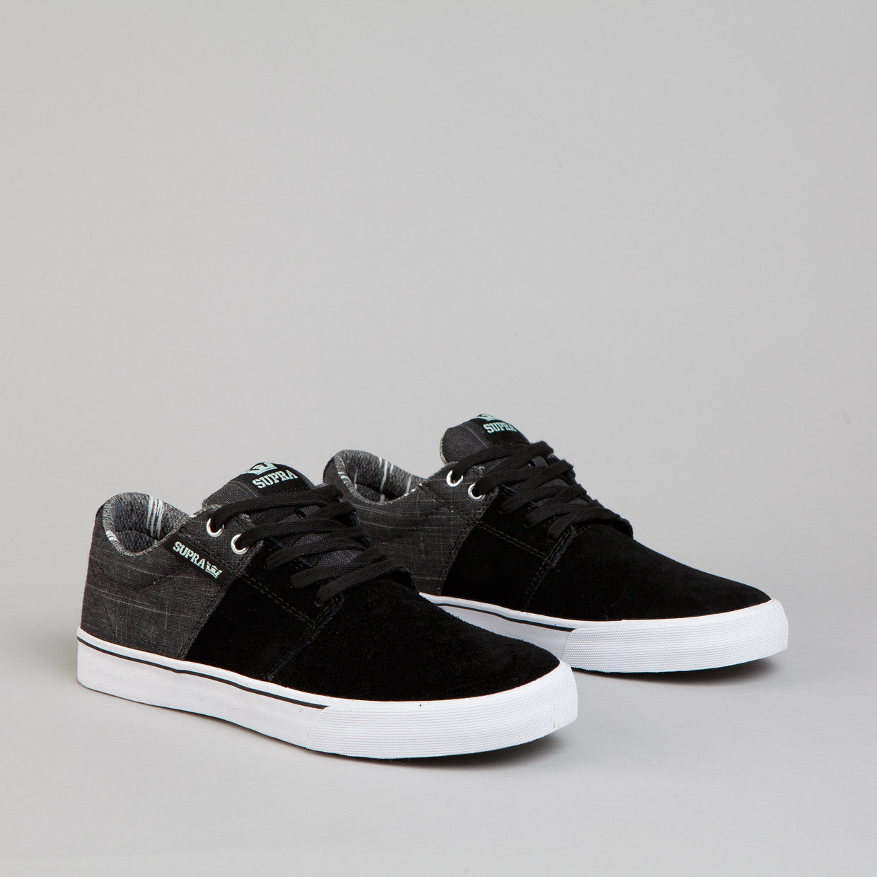 Supra Stacks Vulc 2 Black / Grey - White