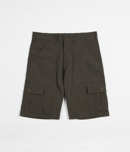 Stan Ray 6 Pocket Cargo Shorts - Olive Ripstop