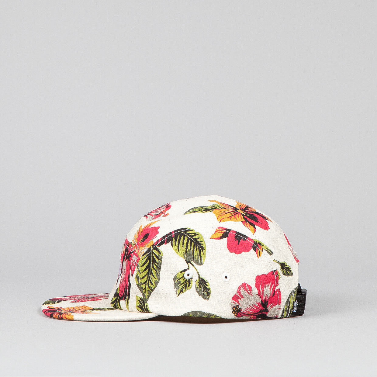 Stussy Vintage Flower Camp Cap White