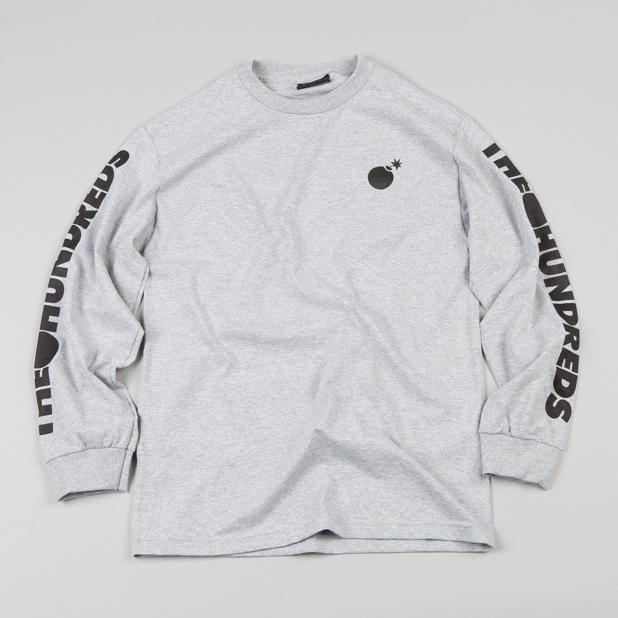 The Hundreds Cobuck Long-sleeve T-shirt Athletic Heather
